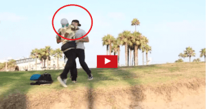 A Guy Eats Peoples Food In A Prank & Get's Punched In The Face