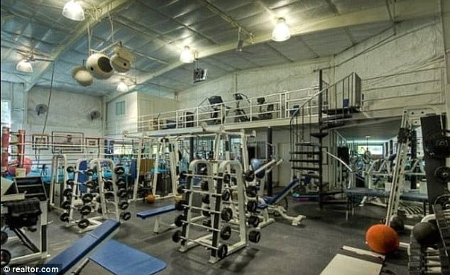 mark wahlberg home gym