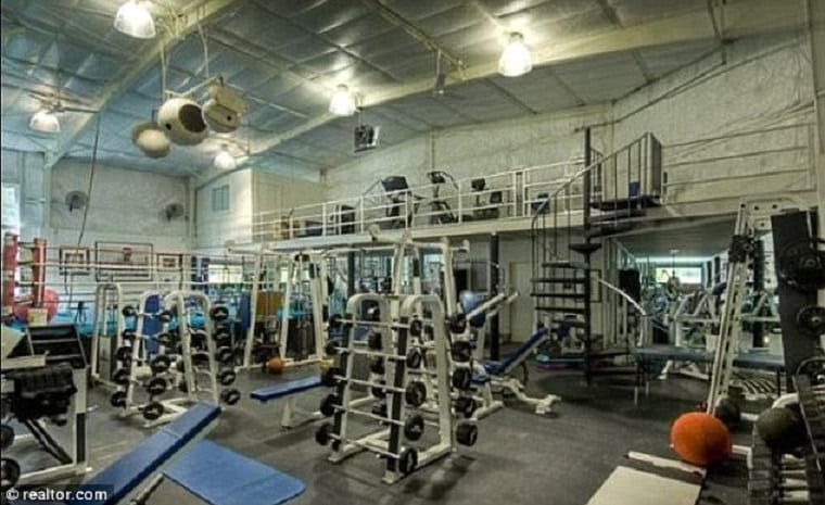 Mark Wahlbergs Mansion Includes A 2.5M Home Gym ...