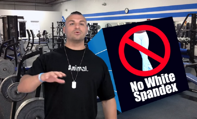 what not to wear in the gym
