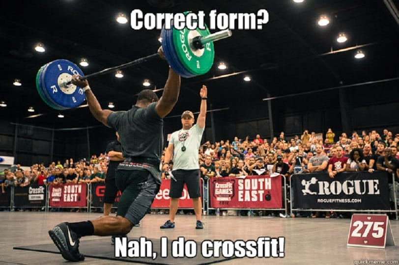 crossfit memes on the internet