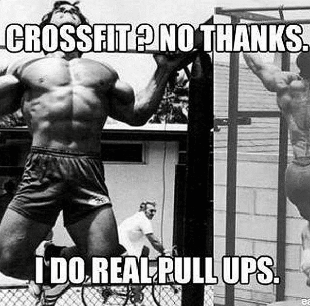 crossfit no thanks