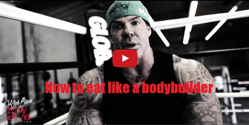 how to eat like a bodybuilder