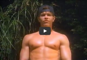 Mark Wahlberg Did A Workout Video When He Was A Teenager