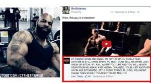 CT Fletcher Goes Berzerk On BroScience Facebook Post