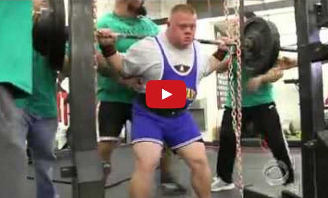powerlifter with down's syndrome