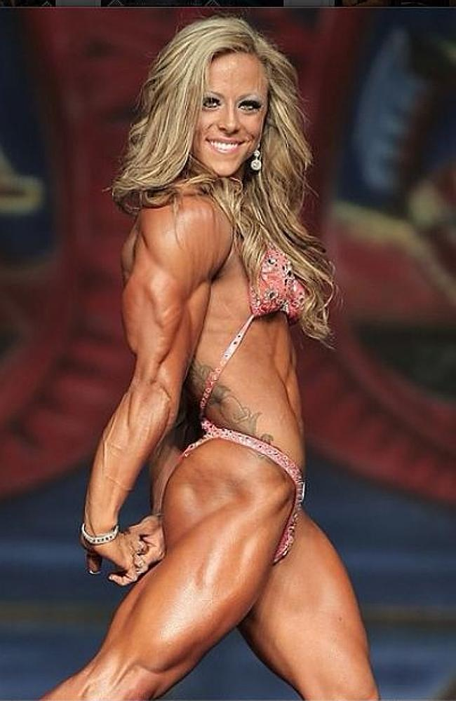 Perfect nude female bodybuilder