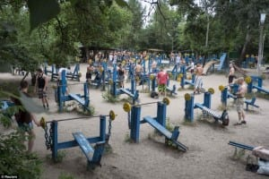 Kachalka: The Most HARDCORE Outdoor Gym In The World