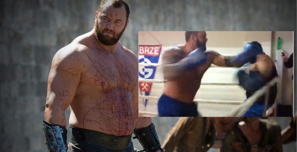 watch the mountain europes strongest man in a hardcore
