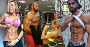 "Lazar Angelov Did A ""Cute Couple Workout"" Video That You Do NOT Want To Miss"