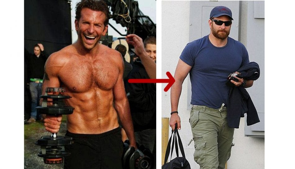 Bradley Cooper Gains 40lbs Of Muscle For American Sniper