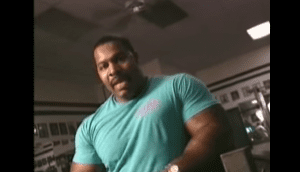 Young CT Fletcher Made A Video Reppin 500lbs In The Bench Several Years Ago