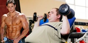Muscular Guy At Gym Is Probably On Steroids, Says Fat Bastard