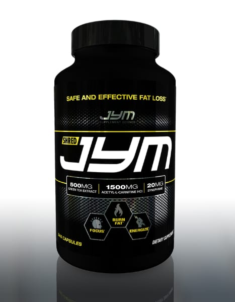 best fat burners jym shred