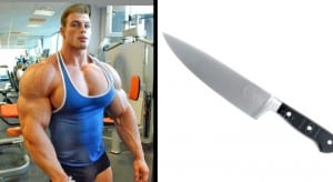 Russian Bodybuilder Claims To Have Knife Proof Abs, Gets Stabbed In Stomach At Party