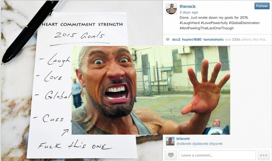The Rock's New Year's Resolutions: #3 World Domination