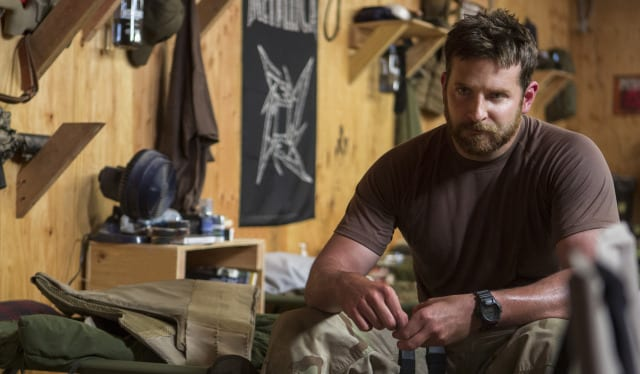 bradley cooper american sniper muscle hollywood movie actor