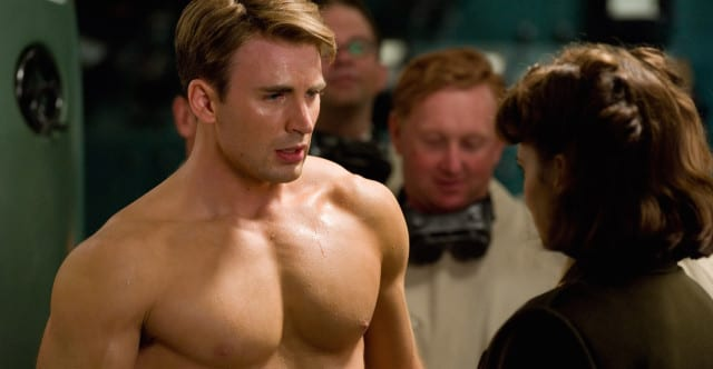 Captain America: The First Avenger muscle hollywood movie actor