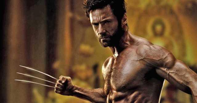 hugh jackman x-men muscle hollywood movie actor