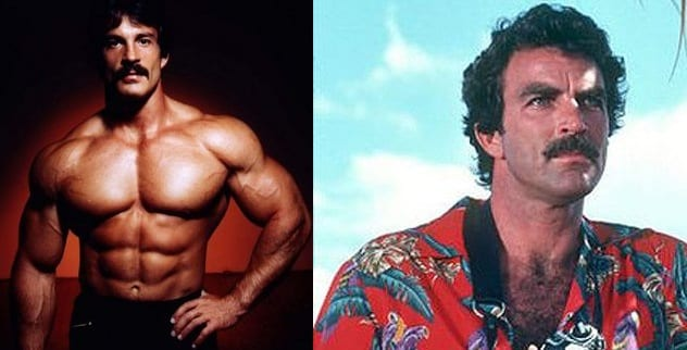 Mike-Mentzer-and-Tom-Selleck