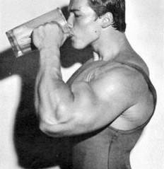 Arnold Schwarzenegger bodybuilding supplements pre workout