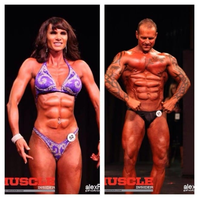 Couple Who Sported Ab Implants In A Show Made A Statement