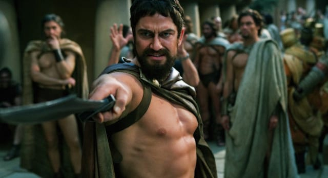 gerard butler muscular hollywood actor