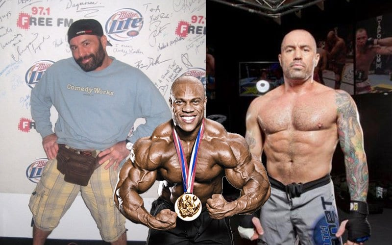 """Joe Rogan Says Bodybuilders Today Are F**ked Up """"Arnold"""