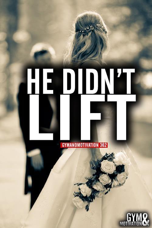 wedding funny gym photos