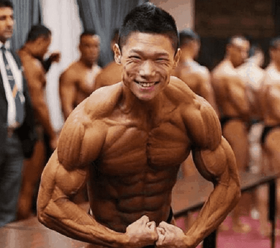 ripped to shreds bodybuilder