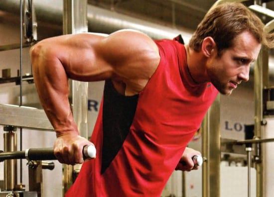 biceps in gym