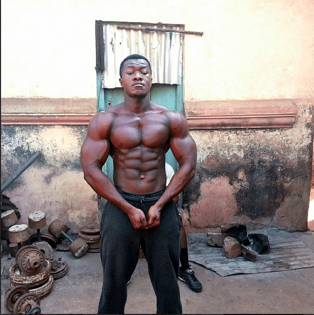african bodybuilder from ghana