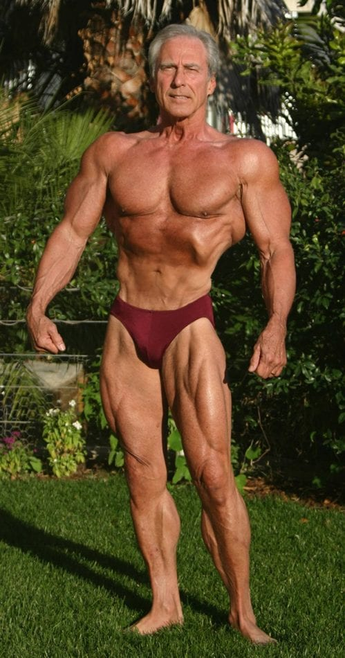 frank zane old school bodybuilder