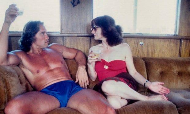 arnold schwarzenegger with women