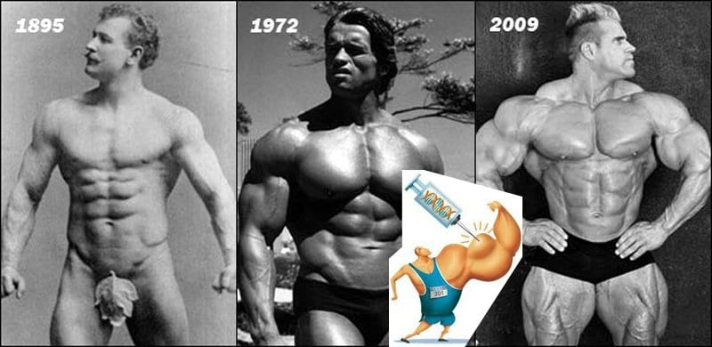 Natural Muscle Vs Steroids