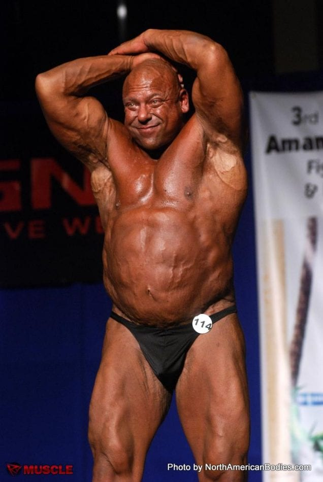 Big Lenny Is One Of The Tallest Bodybuilder Around