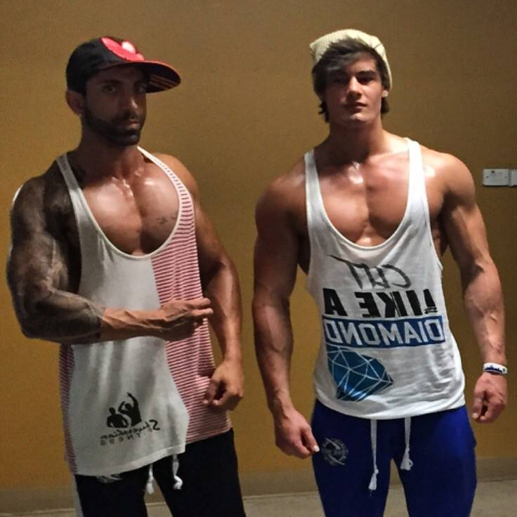 ¿Cuánto mide Jeff Seid? - Real height Chesie-and-jeff