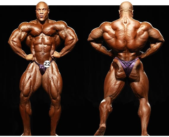 Phil Heath Bodybuilder muscular