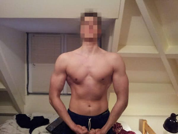 bodybuilding before after