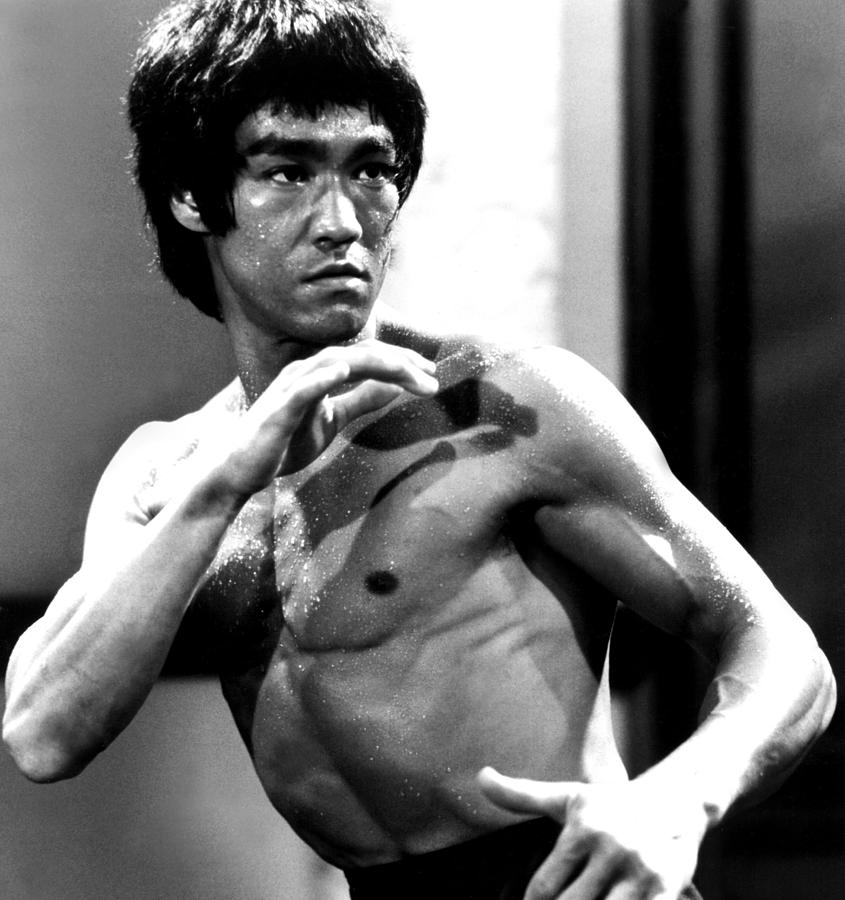 ufc mma fighter muscle bruce lee