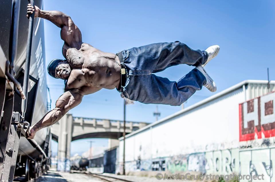 Kali Muscle Bodybuilder training