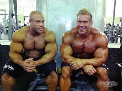Phil Heath and Jay Cutler Bodybuilders