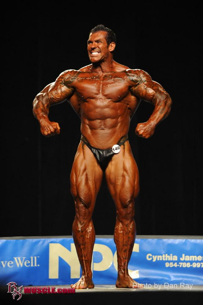 Rich Piana In His Bodybuilding Competing Days