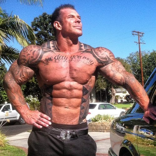 rich piana shredded