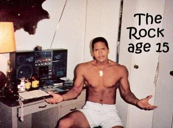 Image result for young dwayne johnson