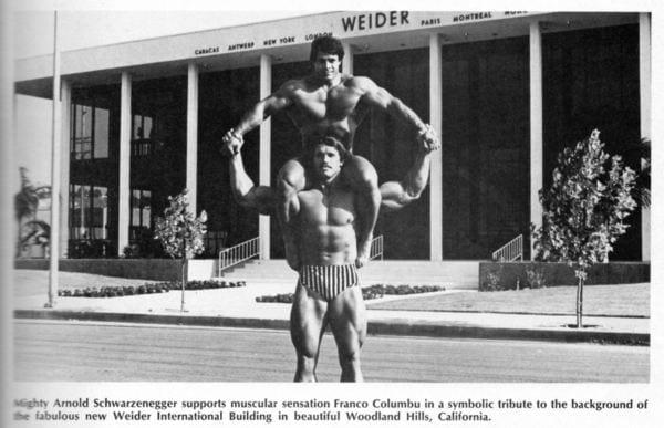 arnold schwarzenegger young bodybuilder