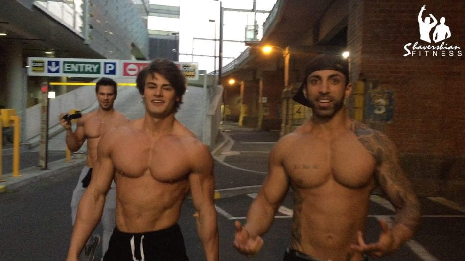 Chestbrah & Jeff Seid Trolling Around In Melbourne