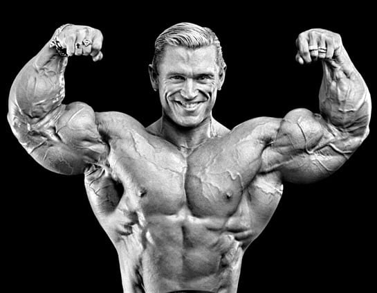 Lee Priest Teaches Us the ways of Curling in the Squat Rack