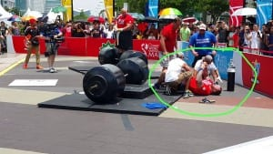 World Strongest Man 2015 – Deadlift 370 Kg in Finals – Thor Collapses