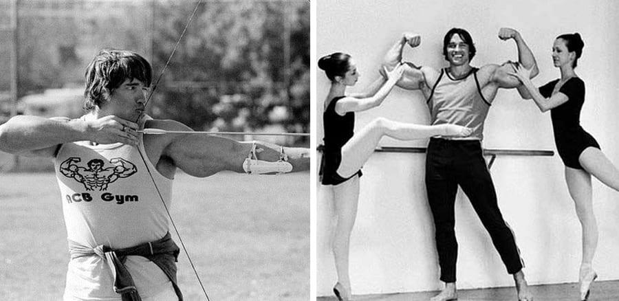 24 Rare Arnold Schwarzenegger bodybuilding photos
